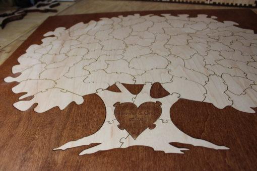 75 Piece Bordered Tree Puzzle
