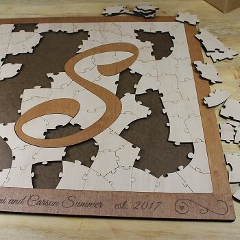 Bordered Letter Puzzle
