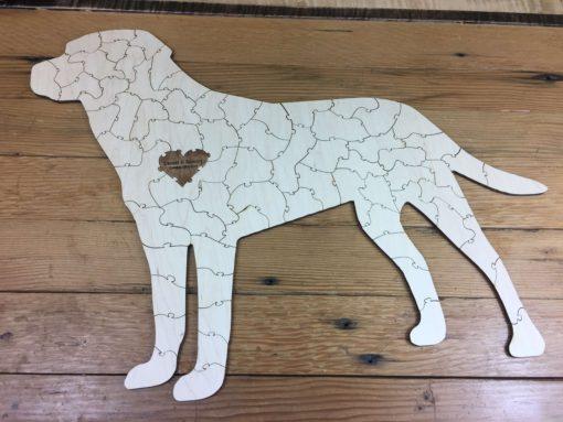 Dog Puzzle Labrador