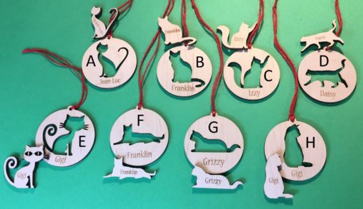 Cat Ornament Styles | Havoly