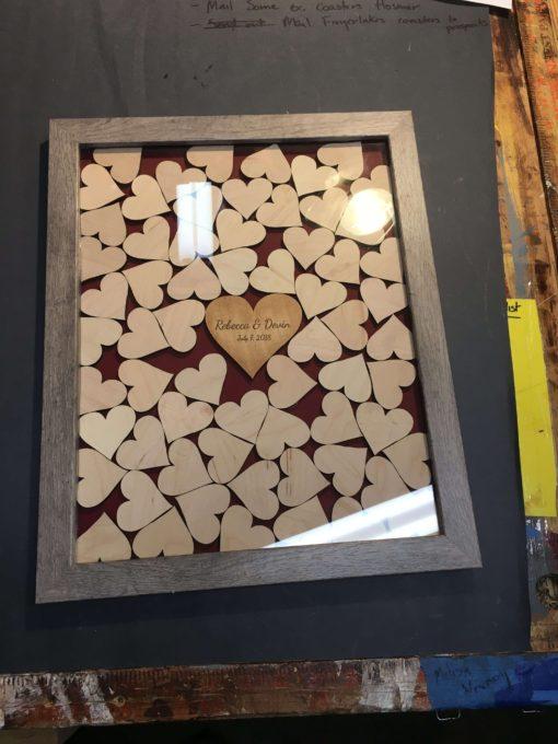 Heart Drop Box Guest Book | Havoly